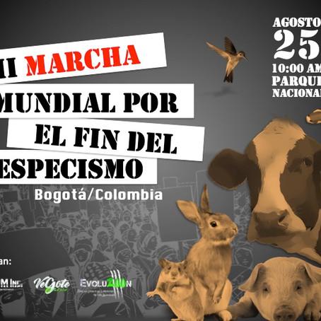 II Marcha por el fin del especismo. Bogotá-Colombia