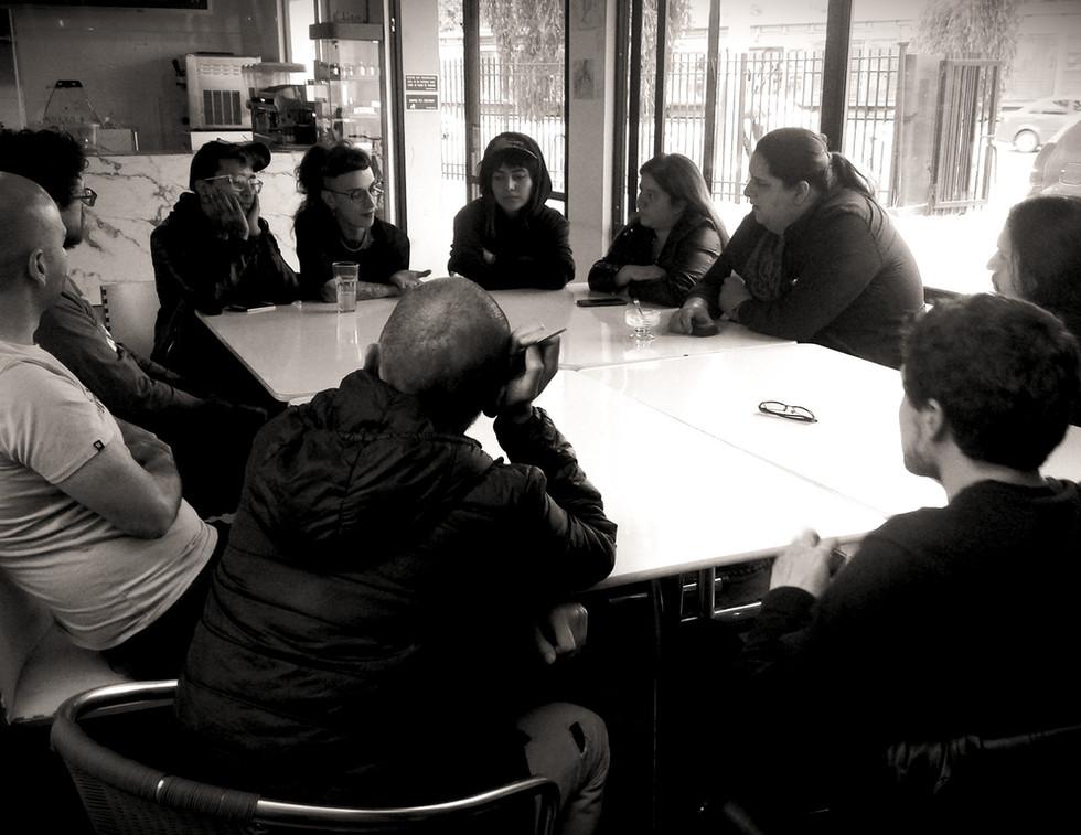 EvoluZOOn Encuentro de realizadores colombianos restaurante herbívoro