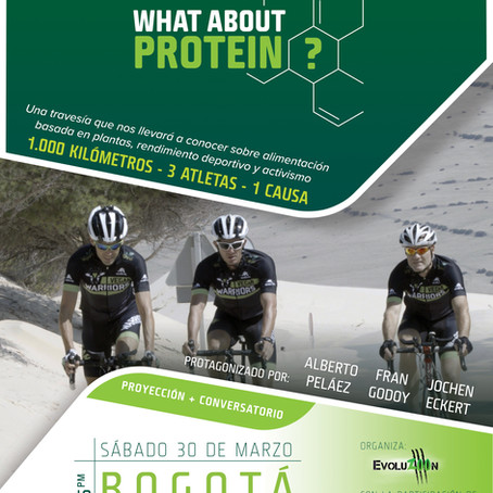 """PROYECCIÓN PREMIERE DOCUMENTAL """"WHAT ABOUT PROTEIN?"""""""