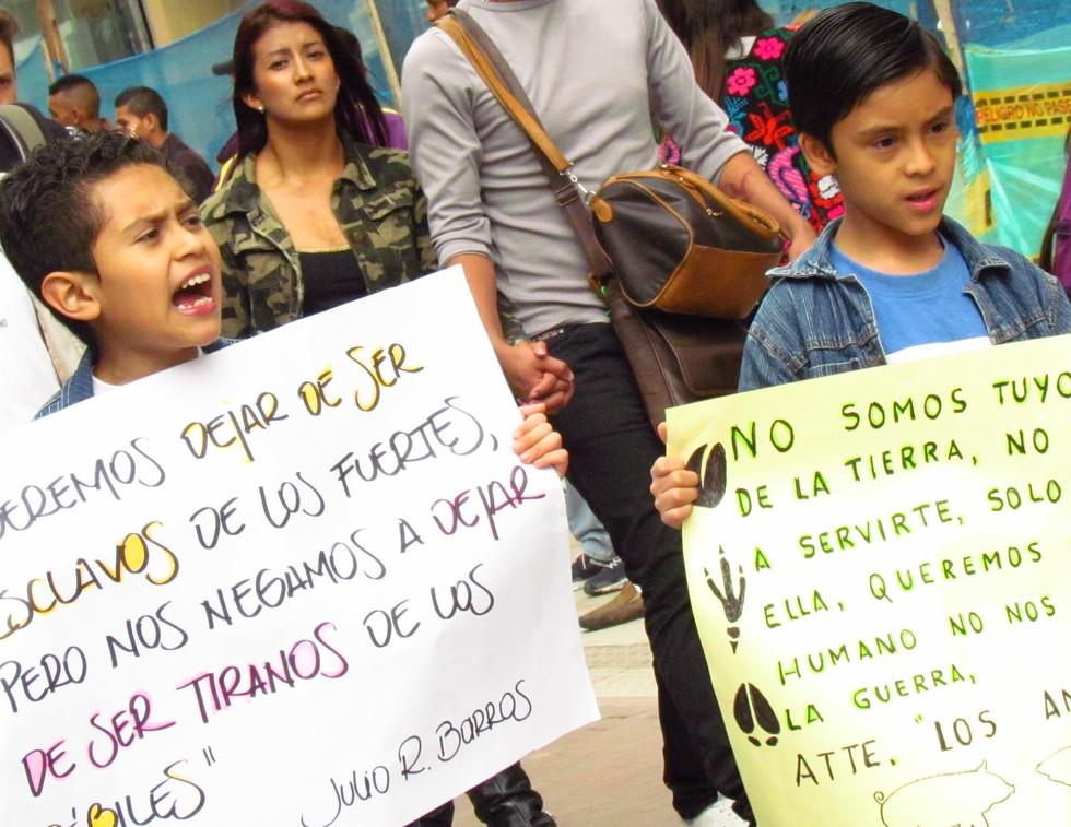 EvoluZOOn Jornada mUndial por el Fin del Especismo Bogotá