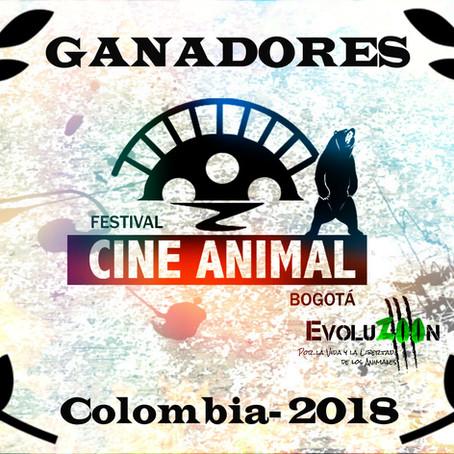 Ganadores & Nominados-Festival CINE ANIMAL Bogotá 2018