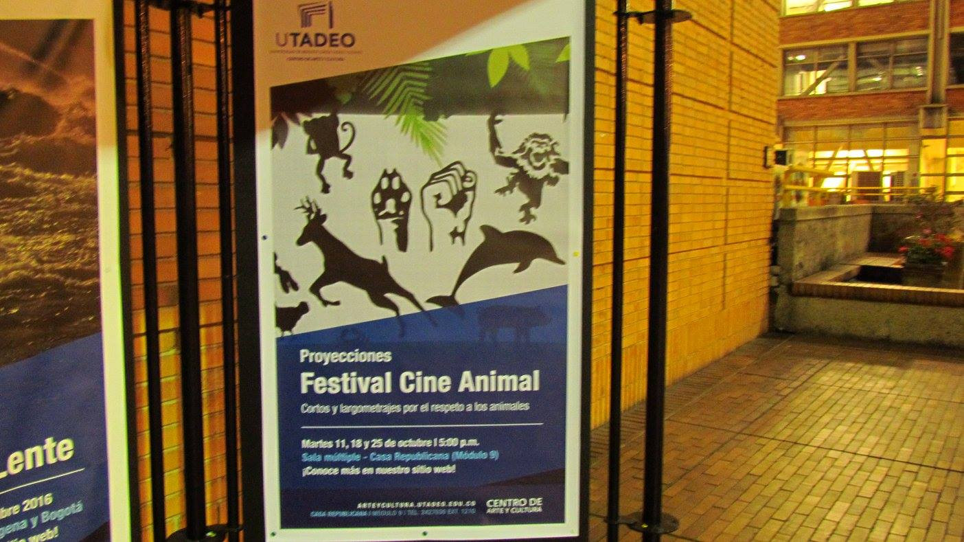 EvoluZOOn Cine Animal Fest universidad jorge tadeo lozano