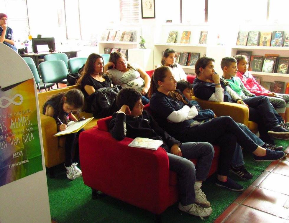 EvoluZOOn Cine Animal Fest Biblored Biblioteca el restrepo