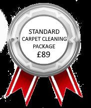 Standard Carpet Clean Package