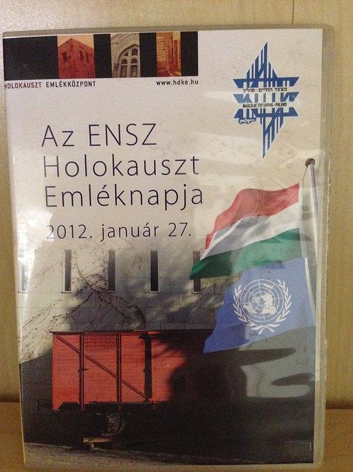 AZ ENSZ HOLOKAUSZT EMLÉKNAPJA DVD - 2012