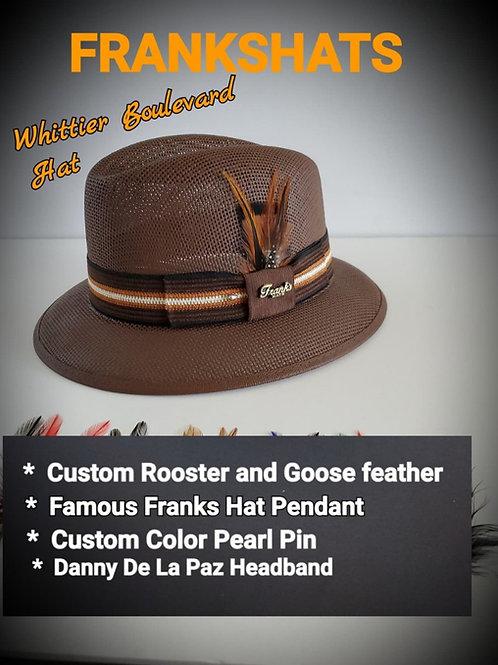 Boulevard Brown Summit hat