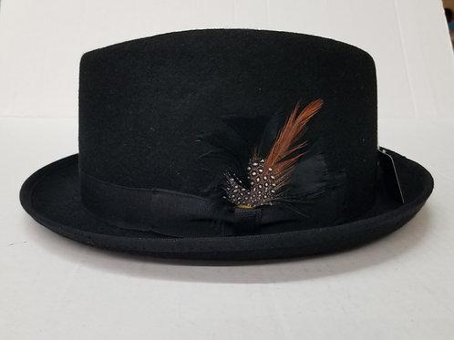 Black Diamond cut Wool Hat