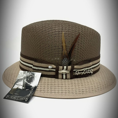 Danny De La Paz Two Tone Brown Hat