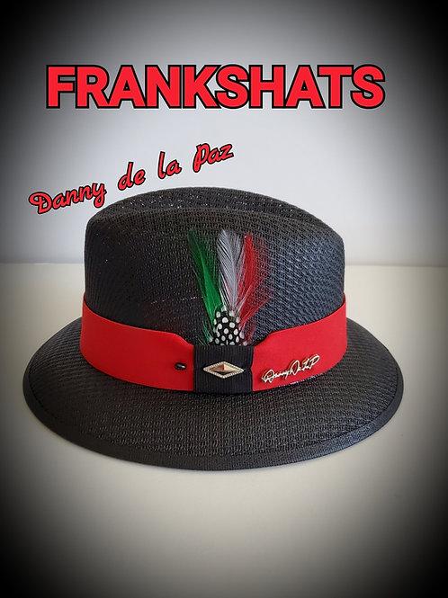 Danny De La Paz Black w/Red Hat