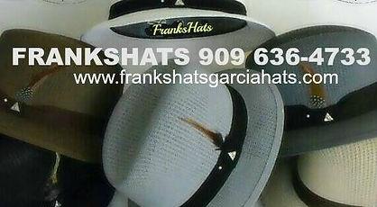 FRANK S HATS GARCIA HATS 1a9cf06a34f