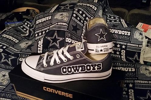 Dallas Cowboys Converse Men or Women
