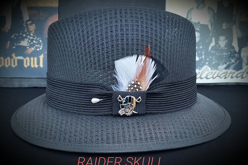 Traditional Garcia Black Lowrider with Pin