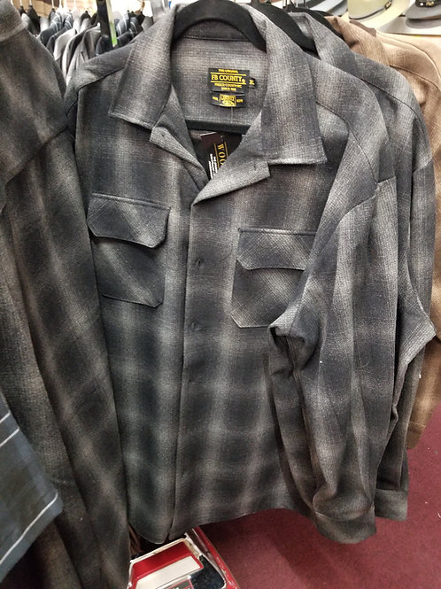 BLACK & GRAY FB COUNTY Pendleton Shirt