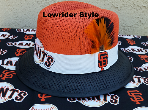 CUSTOM SAN FRANCISCO GIANTS TEAM GARCIA LOWRIDER