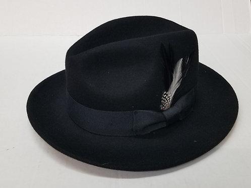 Black Soft Wool Hat
