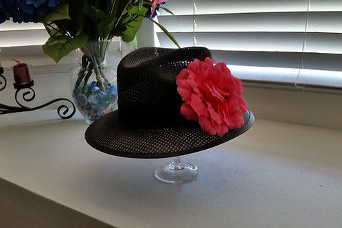 Ladies Viejo Black with Flower or bling
