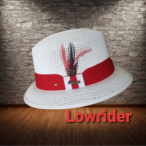 White & Red Viejo or Lowrider