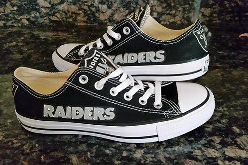 Oakland Raider Conversemen or Wome