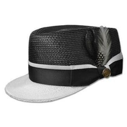 Legionnaire Black & White Cap
