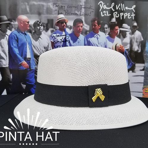 Pinta White lowrider hat