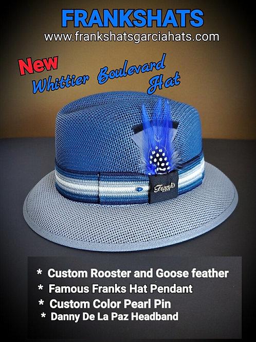 Boulevard Two Tone Blue & Gray Summit hat