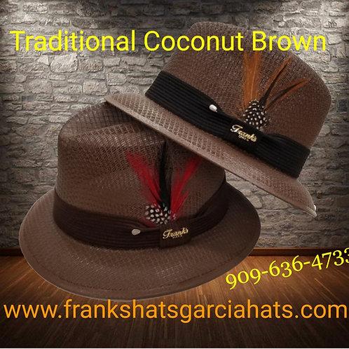 Traditional  Garcia Coconut Brown Lowrider