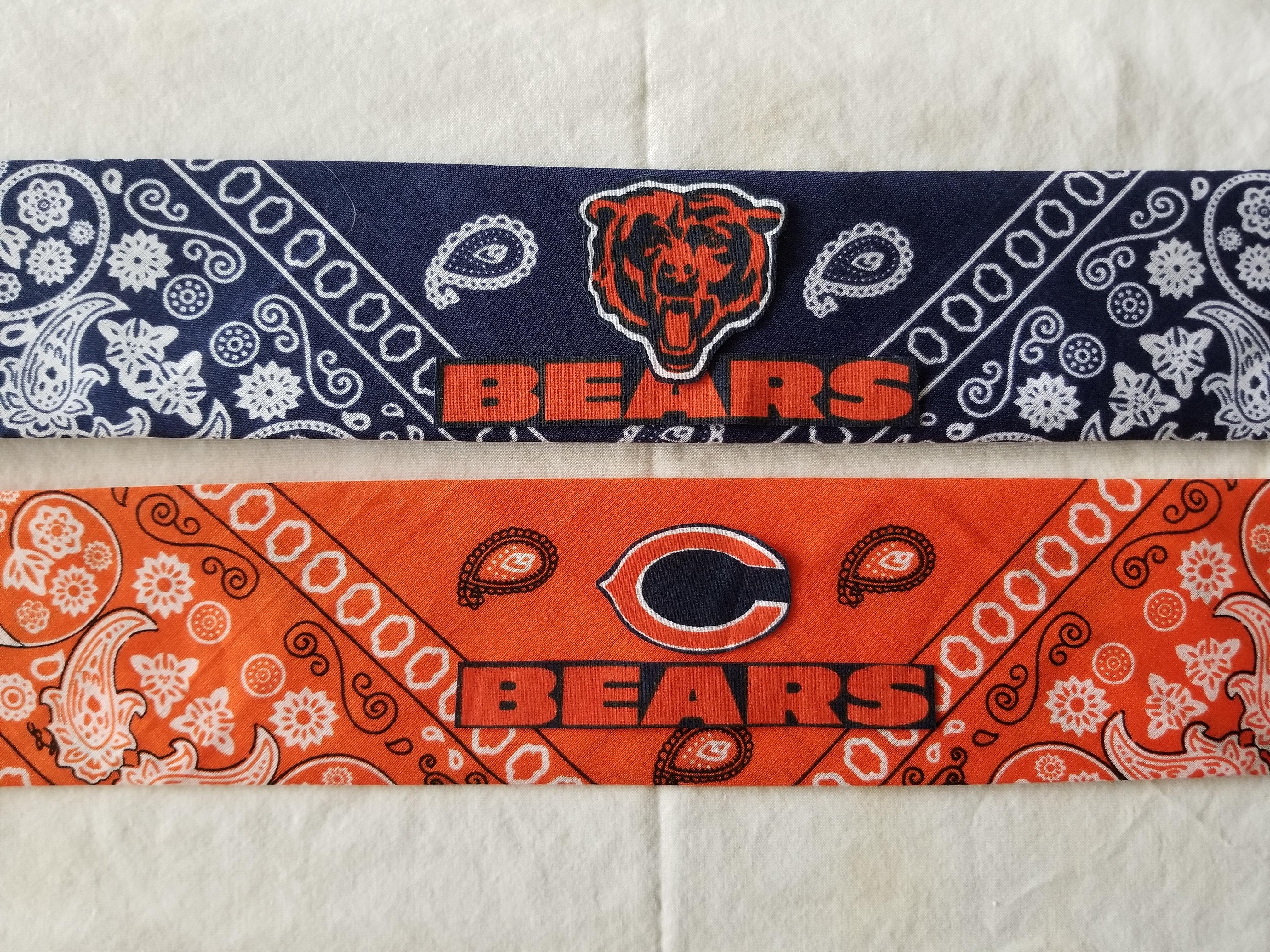 Small Chicago Bears Bandana