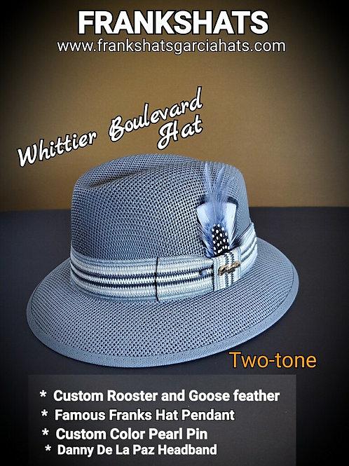 Boulevard Two Tone Gray Summit hat