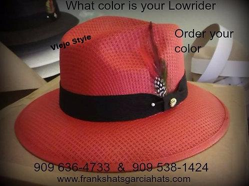 Custom Red Viejo Garcia Hat