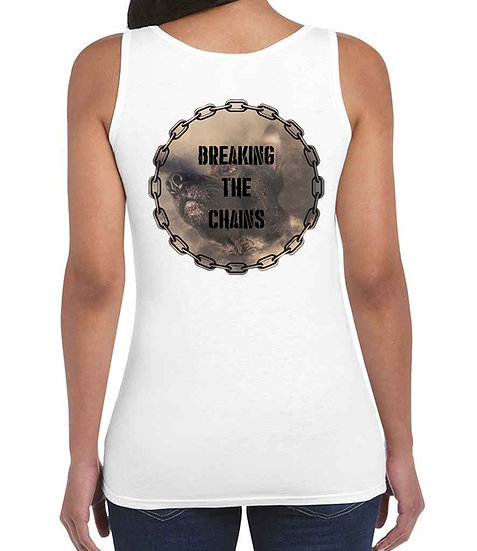 Breaking The Chains Ladies Vets LogoRear