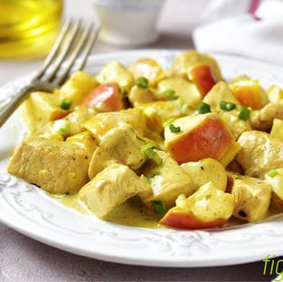 Hähnchenfilet in Currysauce