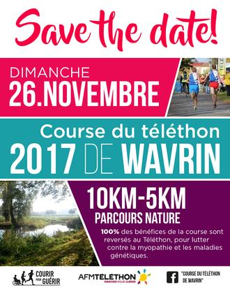 Course du téléthon Wavrin