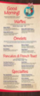 Russ Breakfast Menu 1019 - 86 Year Logo-