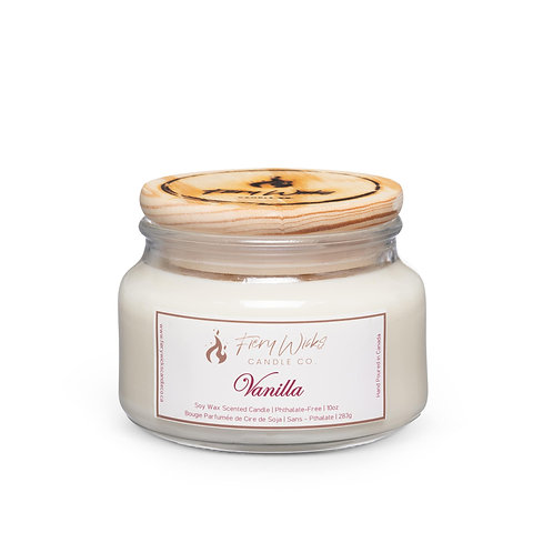 Vanilla Scented Soy Wax Candle