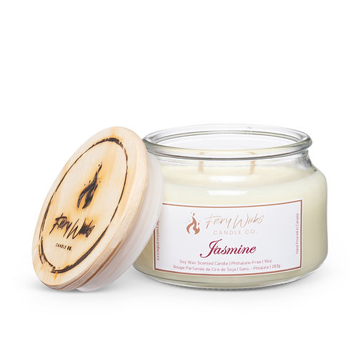 Jasmine Scented Soy Wax Candle
