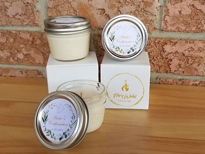confirmation candle party favours