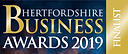 Herts Business Awards - Finalist - Blue