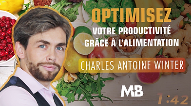 Charles-Antoine WINTER formation Masterbusiness : productivité et alimentation