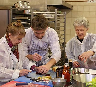 Atelier culinaire Séniors