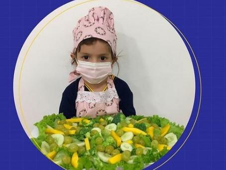 Bons hábitos alimentares começam na Infância