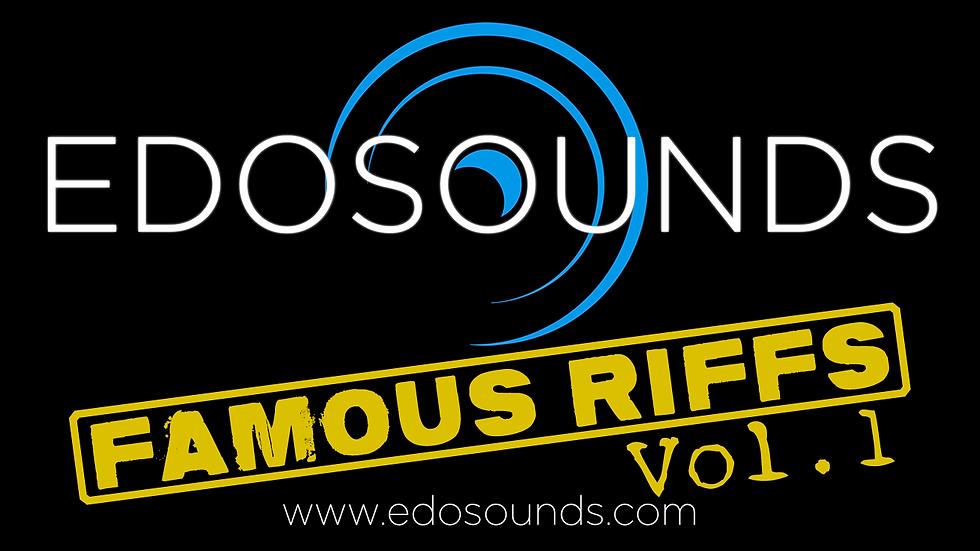 FAMOUS RIFFS VOL.1 (FM3)