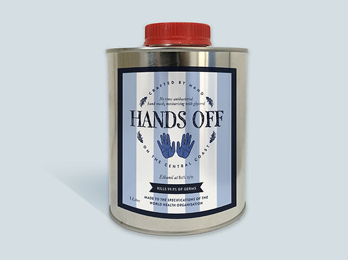 1Litre Hand Sanitiser