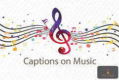 Captions on Music