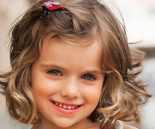 Short Haircut For Little Girl