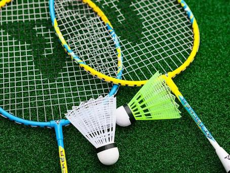 Instagram Hashtags on Badminton Racket:-