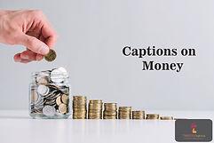 Caption on Money