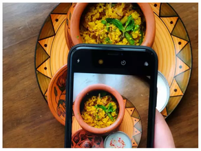 Instagram Hashtags on Food Photography:-