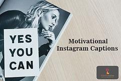 Motivational Instagram Captions