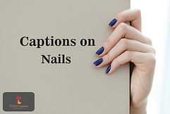 Captions on Nails