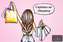 Captions on Shopping